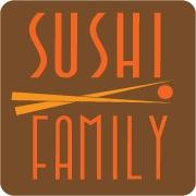 logo sushi family