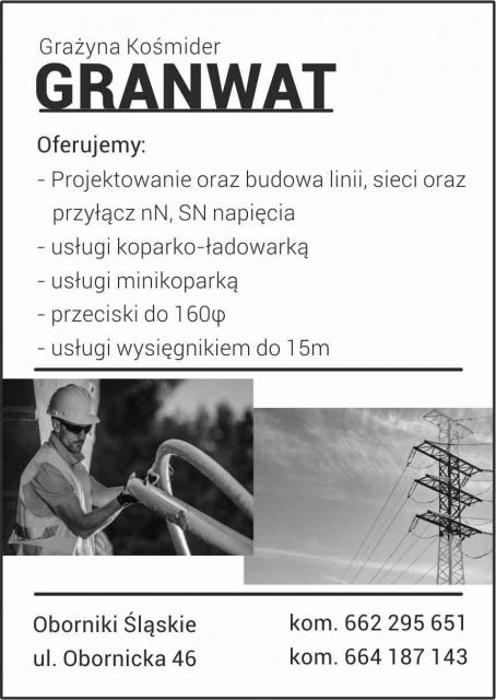 Nasze ogłoszenie w lokalnym informatorze teleadresowym Trzebnica