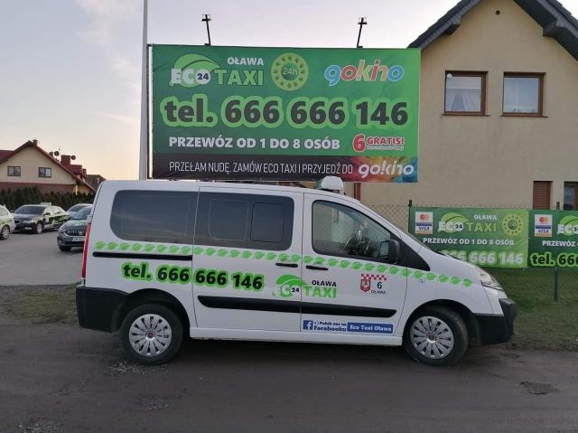 Bus Eco Taxi Oława dla 8 osób