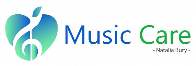 logo music care