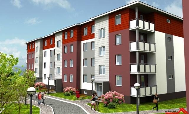 Projekty bloków mieszkalnych