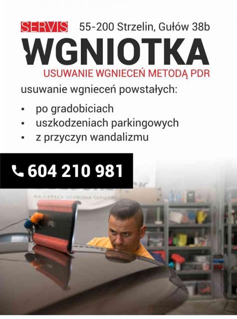 Nasze ogłoszenie w lokalnym informatorze strzelińskim 2020