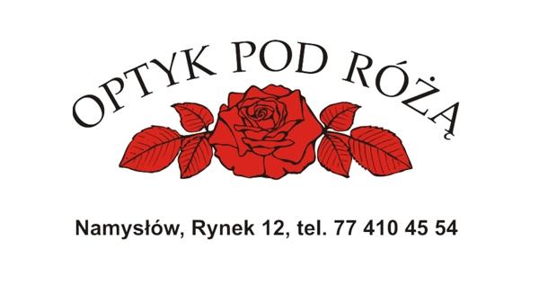 Logo Optyk pod różą