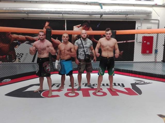 Treningi Brazylijskiego jiu-jitsu