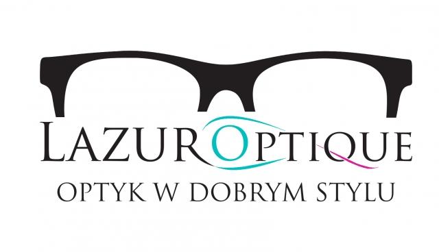 Logo Lazur Optique - optyk brzeg